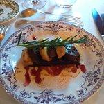 pain d'épice + foie gras poêle + pomme = trop gras le pain d'épice est plein de graisse du foie