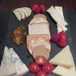 Cheeseboard (shared) at The Bellachroy