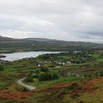 Dervaig village setting on Mull