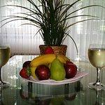 Einen Obstteller zur Begrüßung gehörte bei Kurzurlaub de dazu