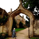 Entrance to Lacock Abbey