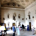 The Great Hall at Lacock Abbey used for receptions and village meetings