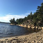 Small beach just a few minutes walk away