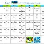 HOT OFF THE PRESS!  Bridge Tender Inn's Entertainment Calendar for the month of August!