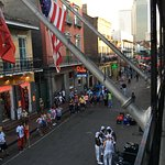 Bourbon Street views in early evening