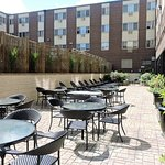 Relax in the warm sun on our newly renovated patio area!