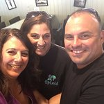 Michael, Michelle and Michelle... Best Bartender Ever! We love you Michelle!