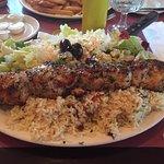 Chicken Souvlaki At Peter's On Eglinton!