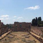 Palais de Flavian et ses jardins