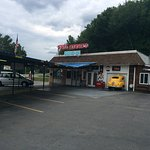 Taken at Fast Eddie's Drive In August 1, 2016. They give you a feel for Fast Eddie's, a 50's typ