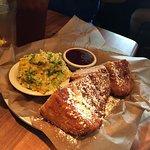 Monte Cristo Sandwich and Broccoli Casserole