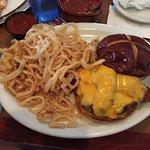 Hamburger & Onion Rings