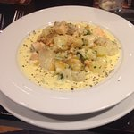 """"""" The seafood chowder is up there  with the BEST """"!!!"""