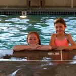 Granddaughters enjoying the pool