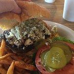 I love the Memphis Blues Burger!