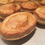The famous butchers pie is so meaty & so good!