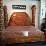 The Karma Sutra penis bed / mind blowing detailing.