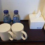 No tea & coffee facilities