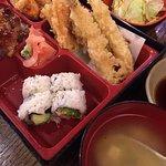 Bento Box A, chicken teriyaki $8.75
