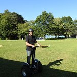 Riding Segway at Bonigen