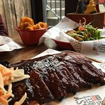 Jack Daniels & Honey Bourbon Ribs