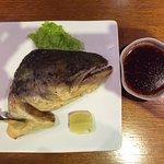 Fried Salmon Head