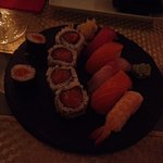 mix sushi simples