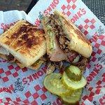 Chz curds and the Cuban sandwich.