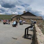 Alpine Visitor Center, shop and cafe