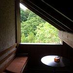 komplett überdachter Balkon, Nachbarzimmer