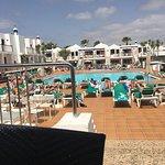 Bitacora club Lanzarote drag show food pool
