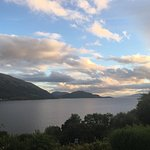 Stunning evening view from Kerrera Cottage