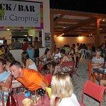 Le bar/restaurant du camping