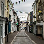 Falmouth high street near Prince of Wales (early morning)