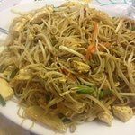 Sinapore Noodles. The serving was huge, picture doesn't do it justice.The flavour was excellent.