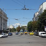 next to the hotel is the centre of sofia, so great accessibility.