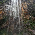 The magnificient water fall