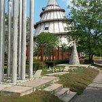 Jahrtausendturm im Elbauenpark