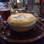 Veg pie - yum!