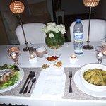 Le dîner au riad