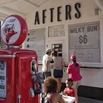 Afters Ice cream stand.