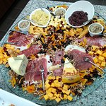 Cured Meats, Cheese Tray