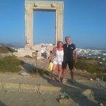 Portale di Apollo a Cora la capitale di Naxos