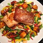 Oriental Salmon Salad