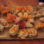 Variety of sushi!