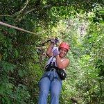 Montezuma Canopy Tours, 2008....weeeeee!!!!
