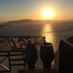 Santorini Reflexions Volcano Foto