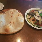 Another lavas bread with the appetizer platter