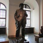 Estatua soviética.