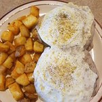 Country Biscuits with Eggs